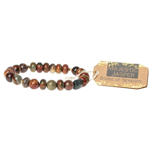 Scout Curated Wears Majestic Jasper Stone Bracelet - Stone of Serenity (1733253922859)