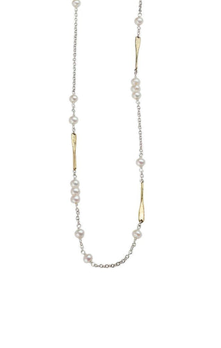 Waxing Poetic Lume Chain - Freshwater Pearl (4357414060075)