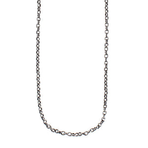 Waxing Poetic Medium Rolo Chain - Sterling Silver (4357415534635)