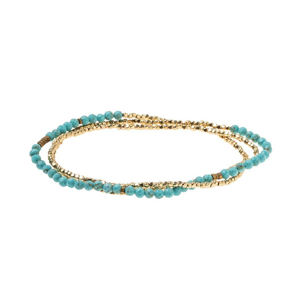 Scout Curated Wears Delicate Stone Turquoise / Gold - Stone of the Sky (1733241929771)