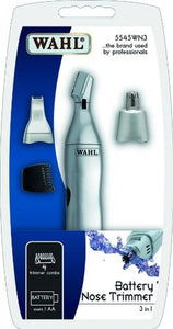 Nosies, ausų, antakių, ūsų plaukų trimeris Wahl Home Ear, Nose & Brow Trimmer 3-in-1