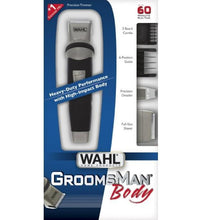 Įkraunama plaukų kantavimo mašinėlė-trimeris Wahl Home GroomsMan Body Trimmer-Beauty chest