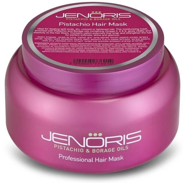 Kaukė plaukams Jenoris Professional Hair Mask su pistacijų aliejumi, 500 ml-Beauty chest
