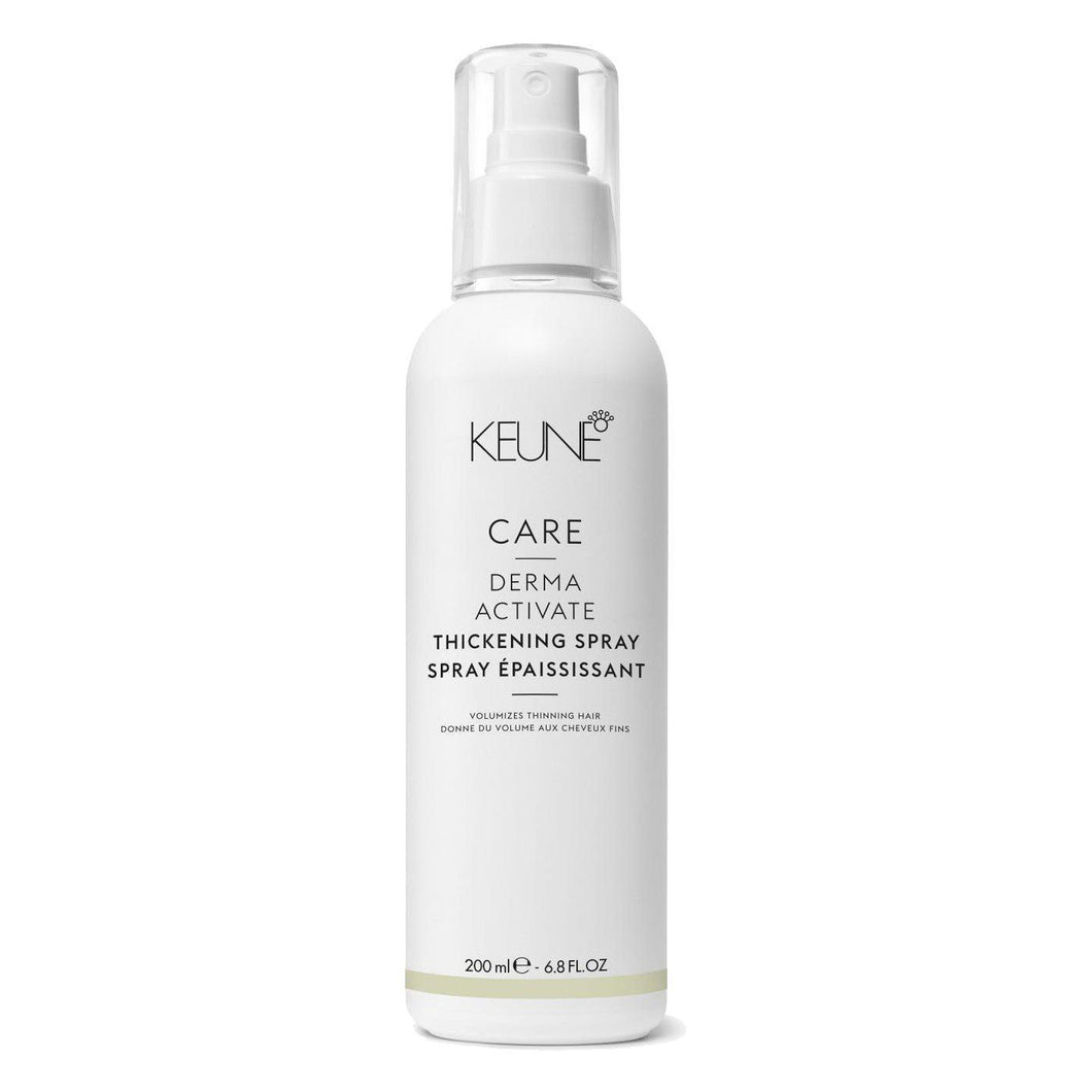 Keune Care Line Derma Activate Thickening Spray purškiklis plaukų apimčiai, 200ml-Beauty chest