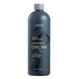 Oksidacinė emulsija Lakme Chroma Developer LAK72301, 28 vol, 1000 ml