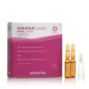 Sesderma ampulės ACGLICOLIC CLASSIC FORTE, 5x2 ml-Beauty chest