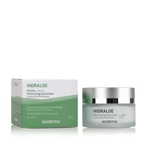 Sesderma drėkinamasis kremas HIDRALOE, 50 ml-Beauty chest