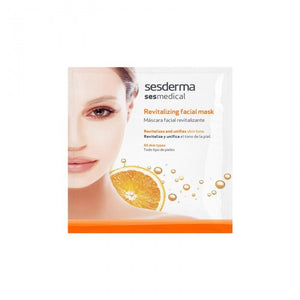 Sesderma gaivinamoji veido kaukė su vitaminu C SES-MEDICAL-Beauty chest