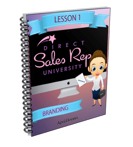 Branding Your Business - Direct Sales Reps Events