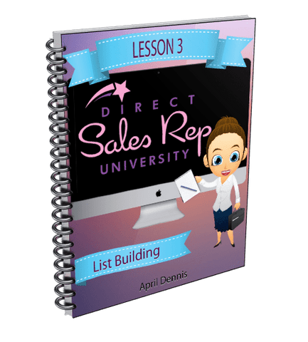 Email List Building - Direct Sales Reps Events