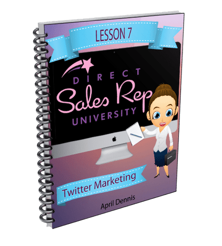 Twitter Marketing for Direct Sales Reps - Direct Sales Reps Events