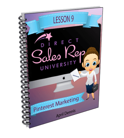 Pinterest Marketing for Direct Sales Reps - Direct Sales Reps Events