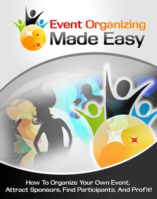 Event Organizing Made Easy