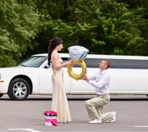 He Put a Ring on It Balloon