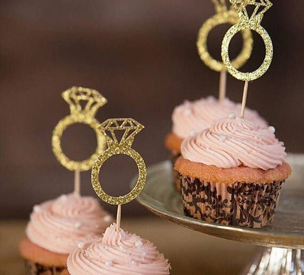 The Ring Fits Cupcake Toppers