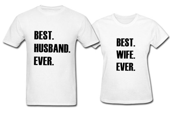 Best Couple Ever Shirts