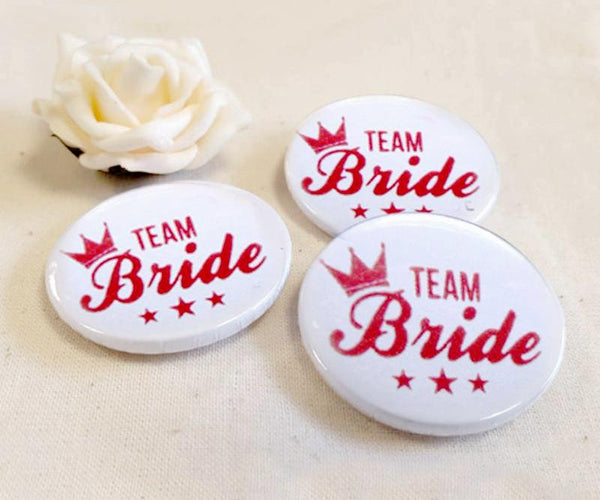 Girls Night Team Bride Pin