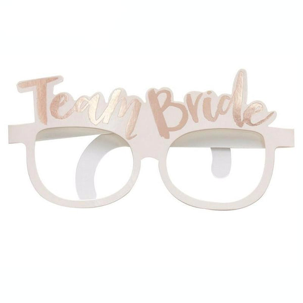 Girl Power Team Bride Glasses