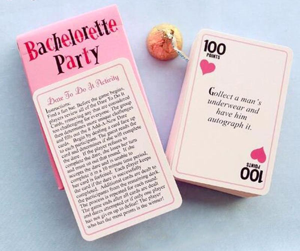Truth or Dare? Bachelorette Party Card Game