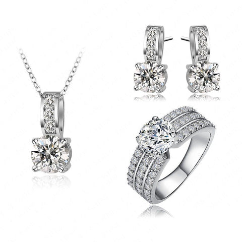 Snowflake Kisses Jewelry Set