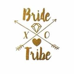 Gold Team Bride Tattoo