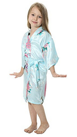 Petal Patrol Flower Girl Satin Robe