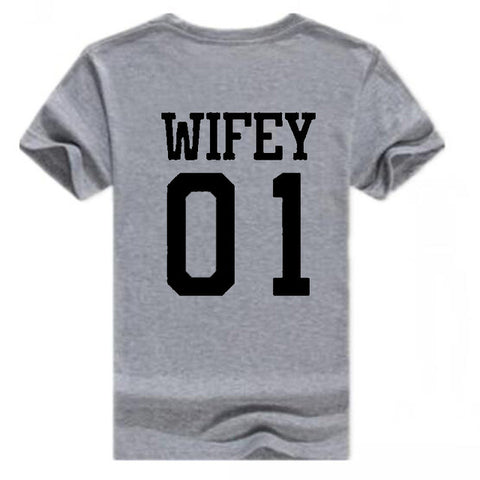 Hubby and Wifey Shirts