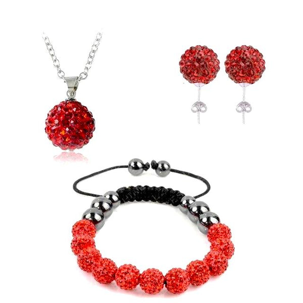 True Love Sparkles Crystal Jewelry Set