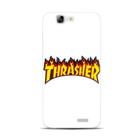 H321 Thrasher Transparent Hard Thin Skin Case Cover For Huawei P 6 7 8 9 10 Lite Plus Honor 6 7 8 4C 4X G7 1