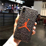 New Silicone Sup Case for Coque iPhone X 10 iPhoneX Michael Jordan Air 23 Basketball Cover for iPhone 6 6s 7 8 Plus i6 i7 funda