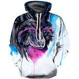 animals hoodie for men/women 3d dog sweatshirts casual autumn anime hoodies with puppy pattern warm men's supreme tracksuit