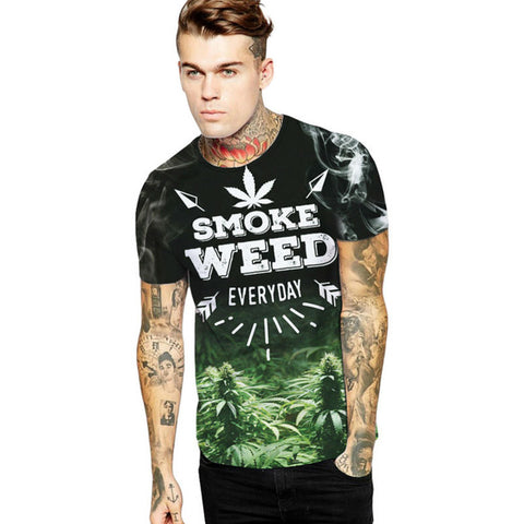 Smoke Weed Everyday Graphic Unisex T-Shirt