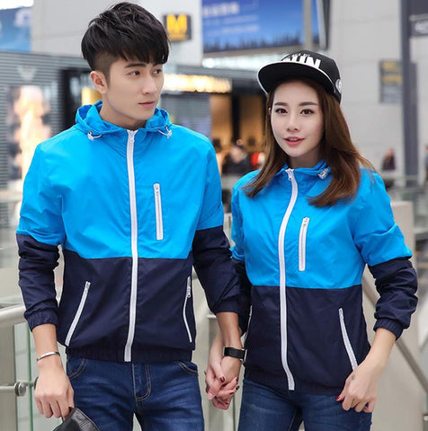Unisex Casual Sport Windbreaker