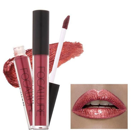 Shimmering Metallic Lip Cream