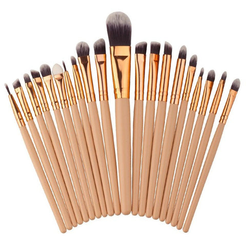 Premium Makeup Brush Set (20pcs)