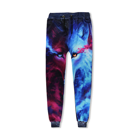 Galactic Wolf Joggers