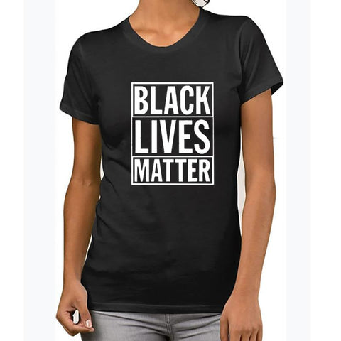 "Women's ""Black Lives Matter"" T-Shirt"