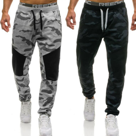 Trendy Camouflage Joggers