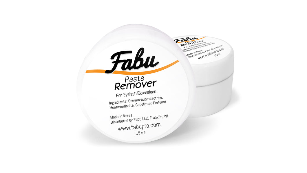 Fabu Paste Remover For Eyelash Extensions