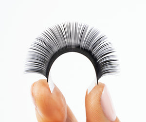 Individual Eyelash Extensions 0.15, D Curl, Single Length Tray