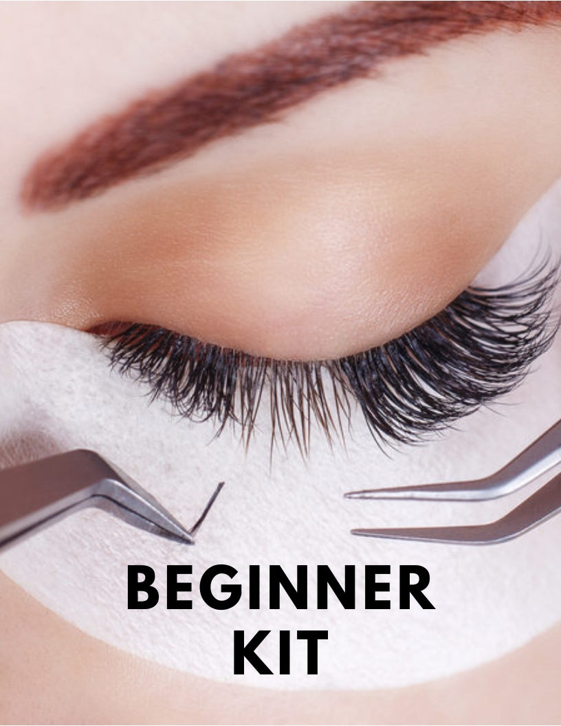 Beginner Kit - Eyelash Extensions Starter Kit