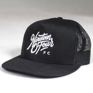 Lifestyle Trucker Hat - Black
