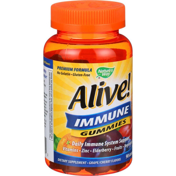 Nature's Way Alive Immune Gummies 90 Count