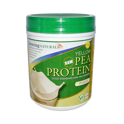 Growing Naturals Yellow Pea Protein Original 16 Oz