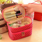 Vanity Necessaire Trip Women Travel Toiletry Neceser Make Up Makeup Case Beautician Cosmetic Bag Storage Organizer Wash Pouch