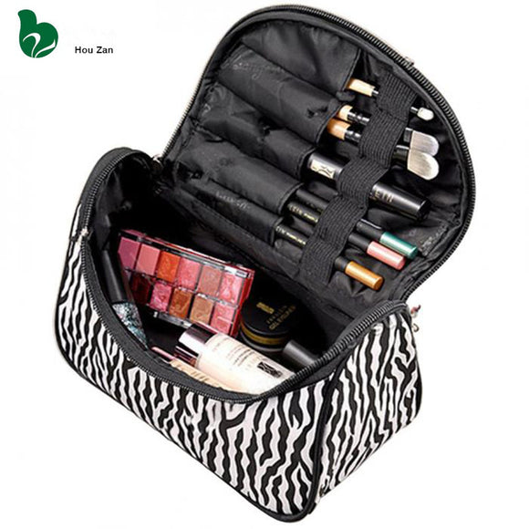 Necessaire Beautician Vanity Neceser Toiletry Travel Women Beauty Makeup Make Up Box Case Storage Pouch Organizer Cosmetic Bag