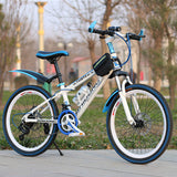 21/24/27 speed mountain bike 20/22/24/26inch variable speed bicycle Front and rear disc brakes multicolor wheel mountain bike
