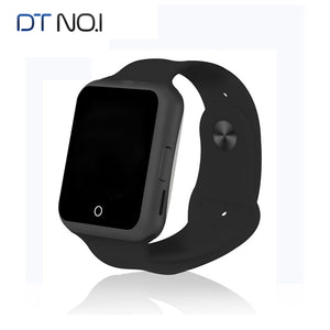 DT NO.1 D3 Bluetooth Smart Watch for Apple Android With Camera SIM Card UV Heart Rate Monitor Children Kids Phone SmartWatch