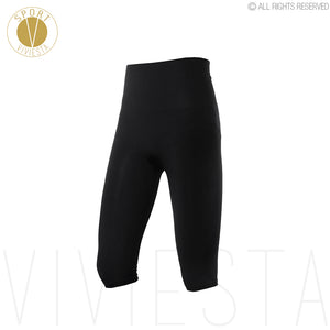 Professional High Rise Sports Capris - Women's Yoga Running Gym Training Workout Tennis Compression Leggings Tights Pants Crops