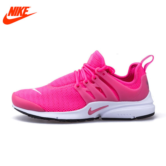 Original New Arrival Authentic Nike Mesh Surface Women's Air Presto Breathable Running Shoes Sneakers
